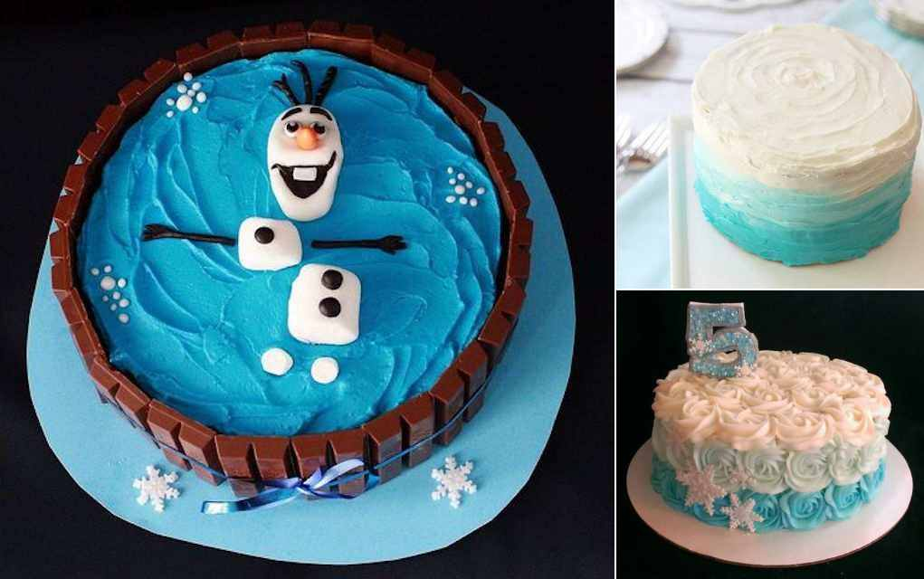 8 Frozen Birthday Cakes to Make at Home (plus Some Showstoppers!)