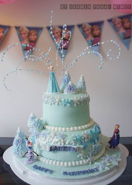 Frozen cake - CakeCentral (1)