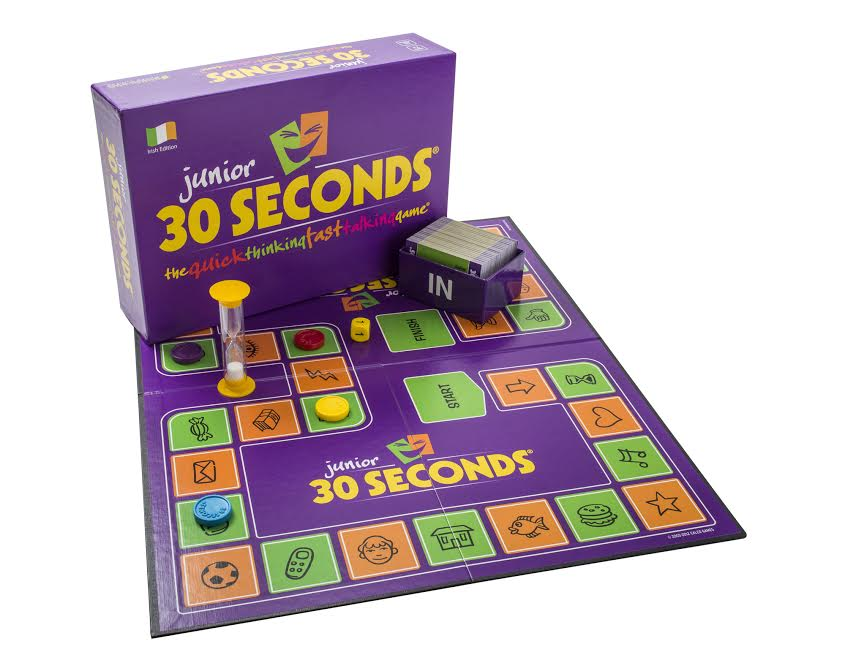 junior 30 seconds board game
