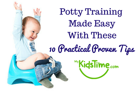 Potty Training Made Easy with these 10