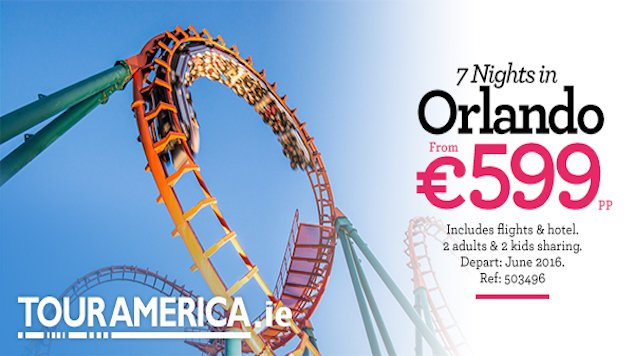 Tour America Orlando Family Holiday Offer