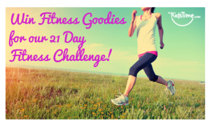 Win Fitness Goodies for our 21 Day
