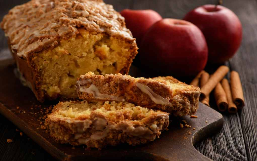 apple cranberry and walnut bread