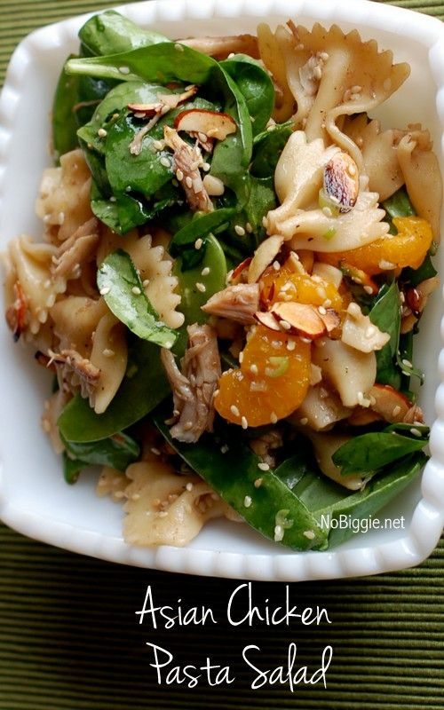 asian chicken pasta salad
