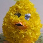 easter chick pinata