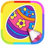 easter coloring pages app