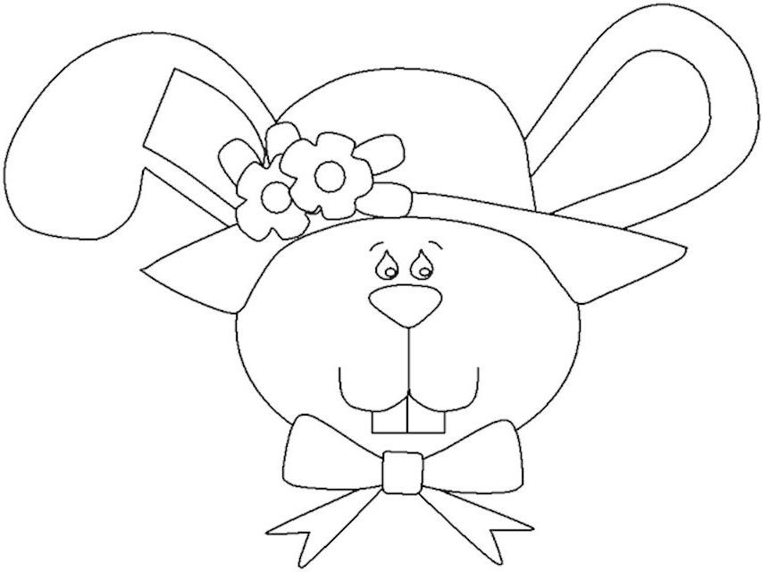 Easter colouring pages - Mykidstime