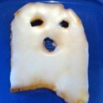 Halloween Party Food Ghost Cookies