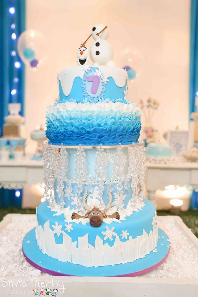Birthday Cake Decoration Images : 8 of the Coolest Frozen Birthday Cakes Ever