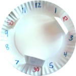 Making Clocks with Paper Plates