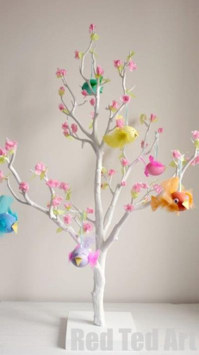 spring tree craft