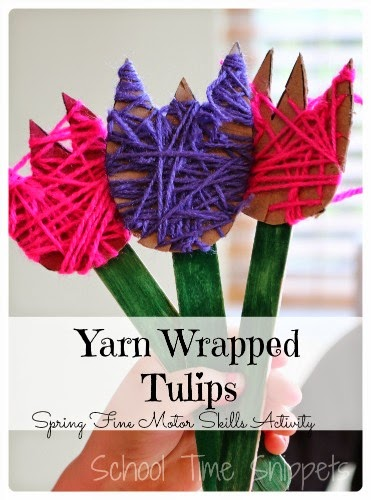 spring tulip craft
