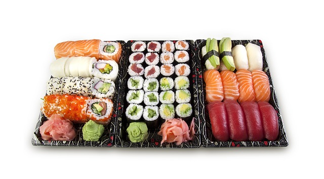 lunch box ideas Sushi