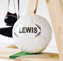 teen gifts personalised football from not on the high street