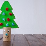winter crafts toddlers christmas tree