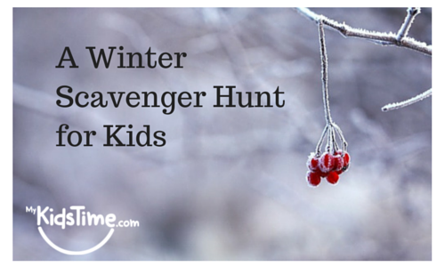 Hunt here s a winter scavenger hunt created by fern aged 10 nearly