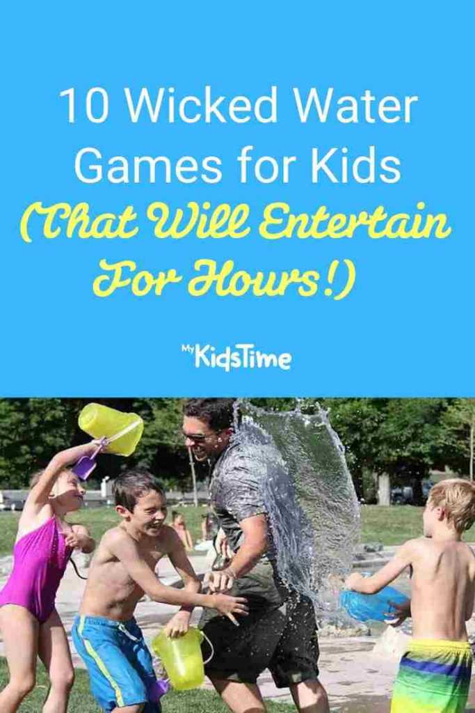 10 Wicked Water Games for Kids