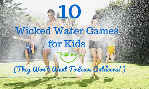 pics photos games for kids outdoor water games