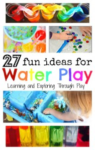 27 Fun Ideas for Water Play