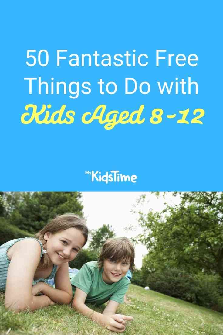 50 Fantastic Free Things to Do with Kids Aged 8-12