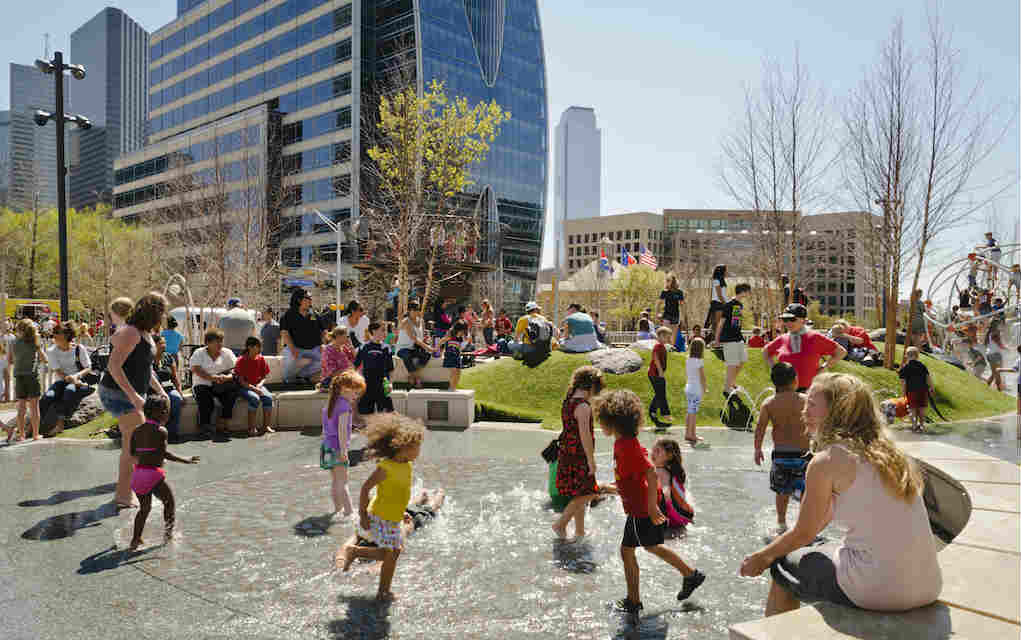 Klyde Warren Park free things to do in Dallas - Mykidstime