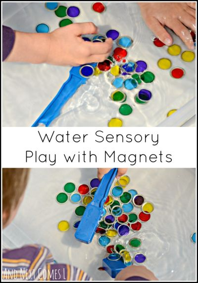 Magnet water play