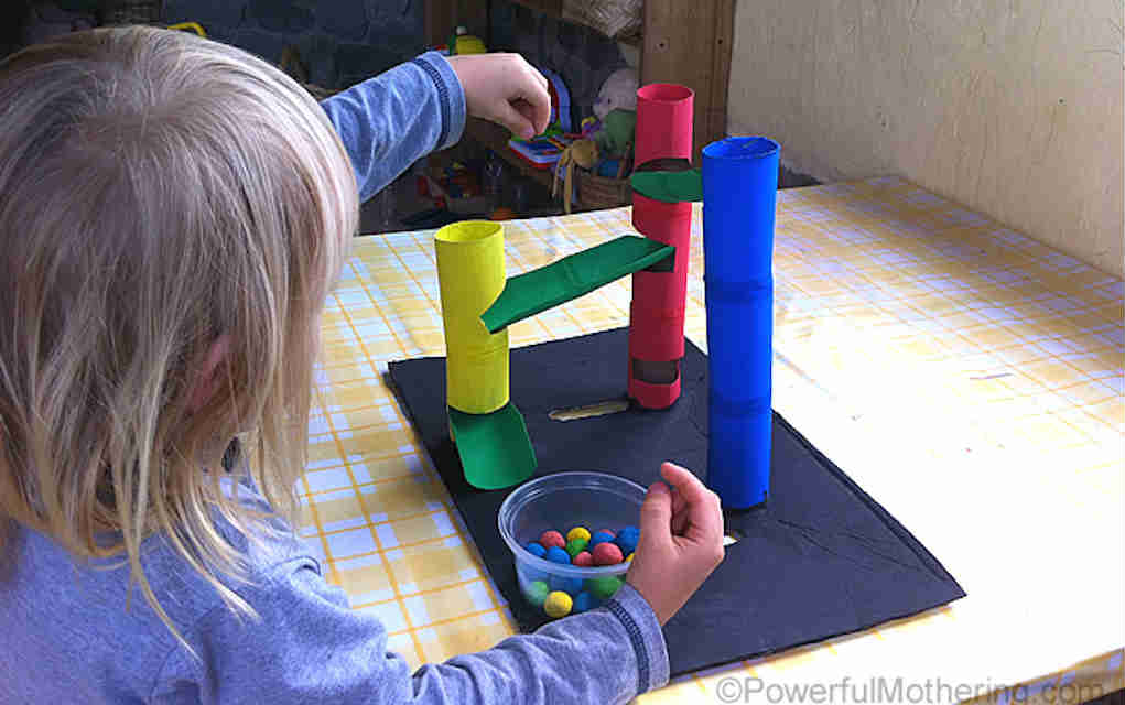 Marble run paper crafts - Mykidstime