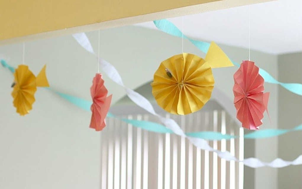 Paper fish paper crafts - Mykidstime