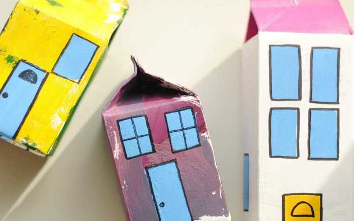 art projects for kids using recycling