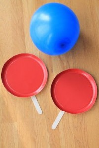 Indoor Games for Kids balloon tennis