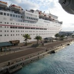 Cruiseship at Dock