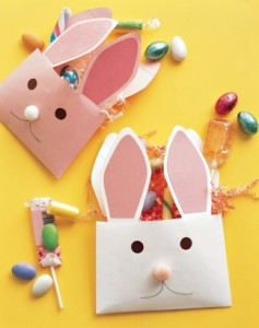 Envelope Bunnies from Martha Stewart