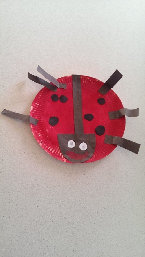 paper plate crafts #22. Ladybird & 25 Cute u0026 Easy Paper Plate Crafts - Perfect for Preschoolers