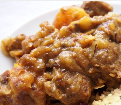 Lamb with Apricot