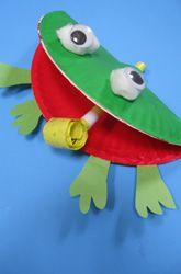 Frog & 25 Cute u0026 Easy Paper Plate Crafts - Perfect for Preschoolers