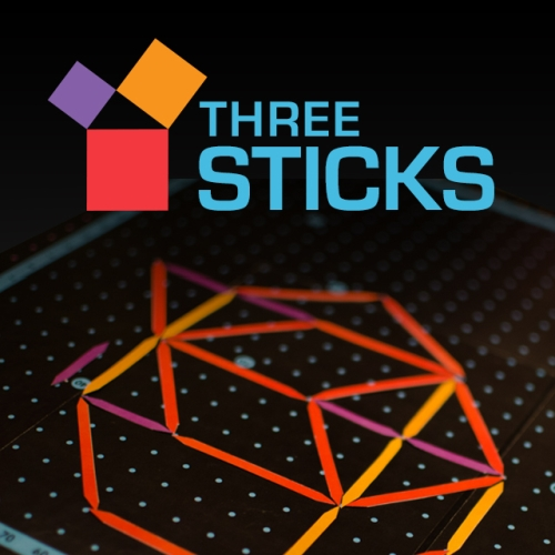 three sticks game