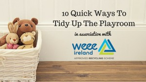 tidy up the playroom
