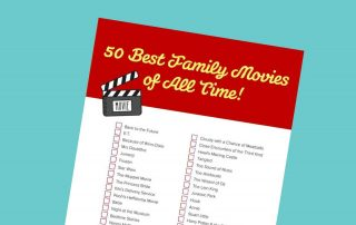 50 Best Family Movies of All Time checklist - Mykidstime