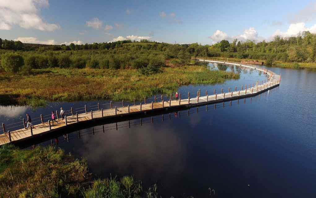Acres Lake Floating Boardwalk