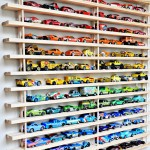DIY Match box cars shelves
