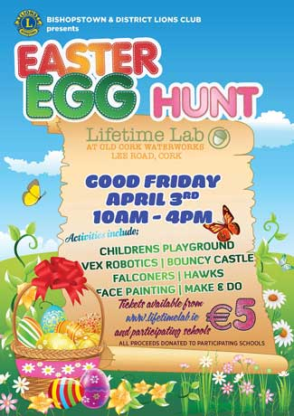 Easter Hunt at Lifetime Lab