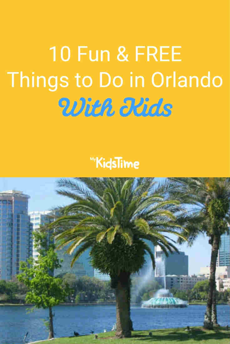 Mykidstime free things to do in Orlando with kids