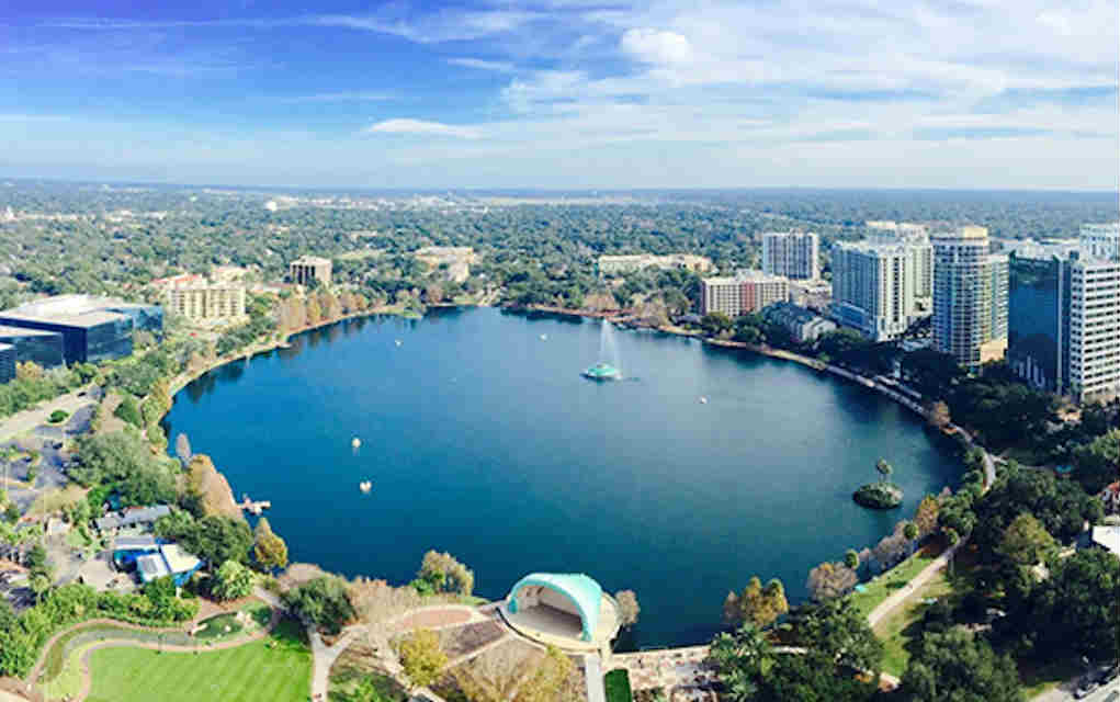 Mykidstime free things to do in Orlando with kids Lake Eola