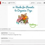 example visual content organising toys