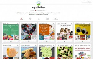 mykidstime pinterest home screen