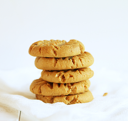 Easy Cookie Recipes peanut butter cookies