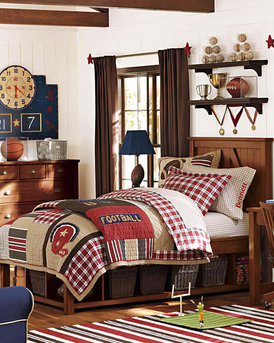 Soccer Room Designs: 12 Of The Coolest Boys Bedroom Ideas On The Block
