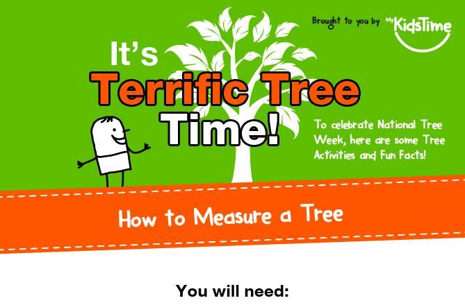Nature Activities For Kids Terrific Tree Fun INFOGRAPHIC