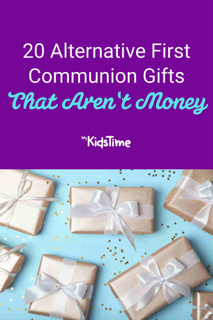 20 Alternative First Communion Gifts That Aren't Money - Mykidstime