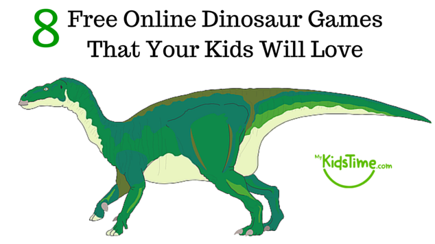 8 free online dinosaur games that your kids will love